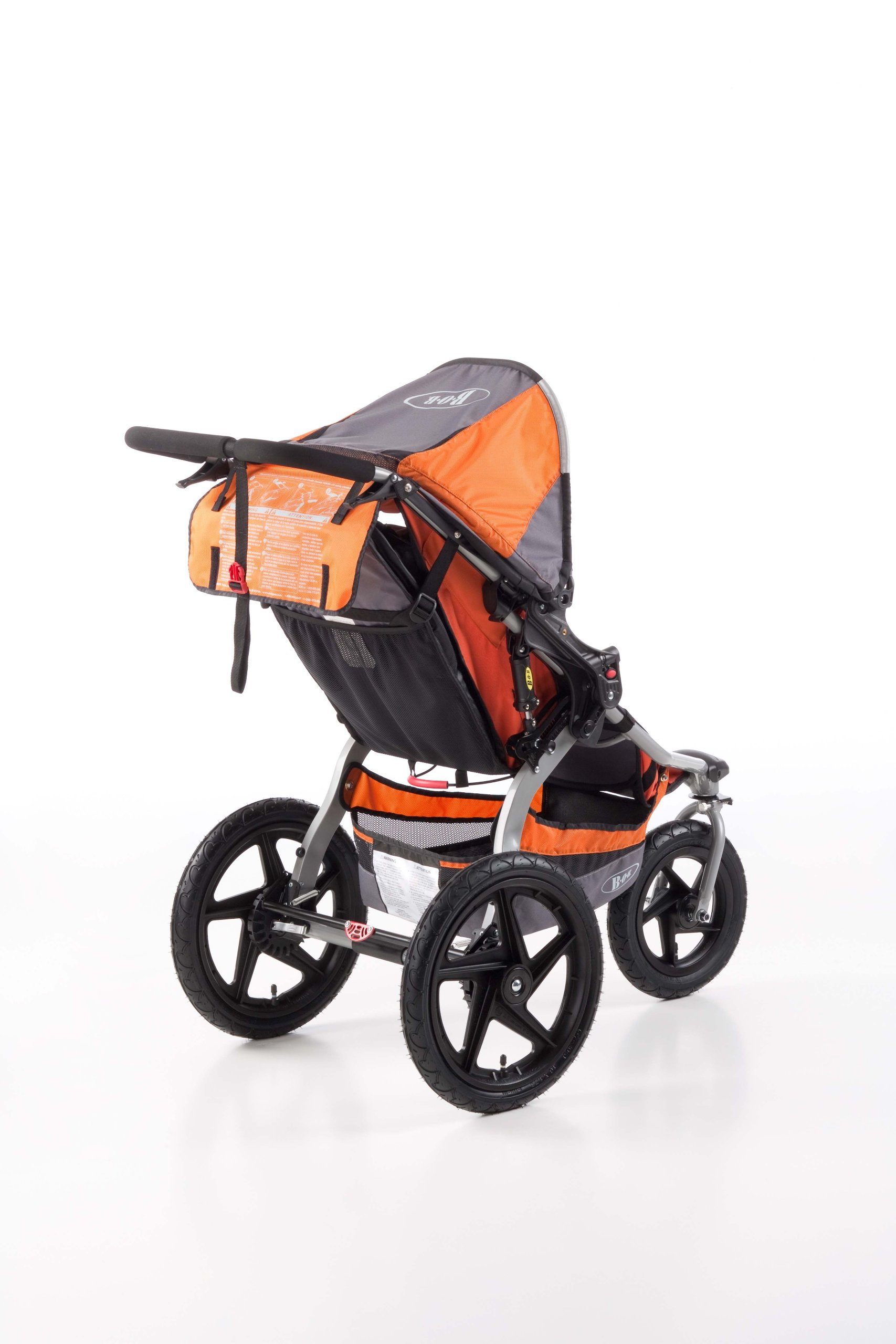 BOB Revolution SE Single Stroller Orange - My Stroller Shop