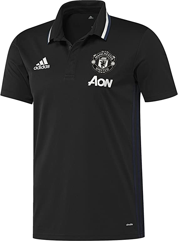 adidas Manchester United TRG Polo Camiseta Hombre