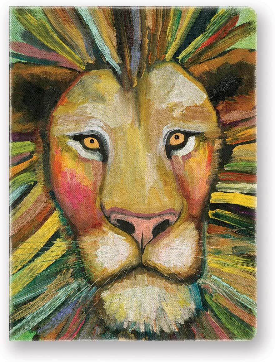 Studio Oh! Hardcover Deconstructed Journal, Majestic Lion