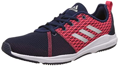 online store 83482 c7259 Adidas Womens Arianna Cloudfoam Conavy, Silvmt and Corpnk Multisport  Training Shoes - 7 UK