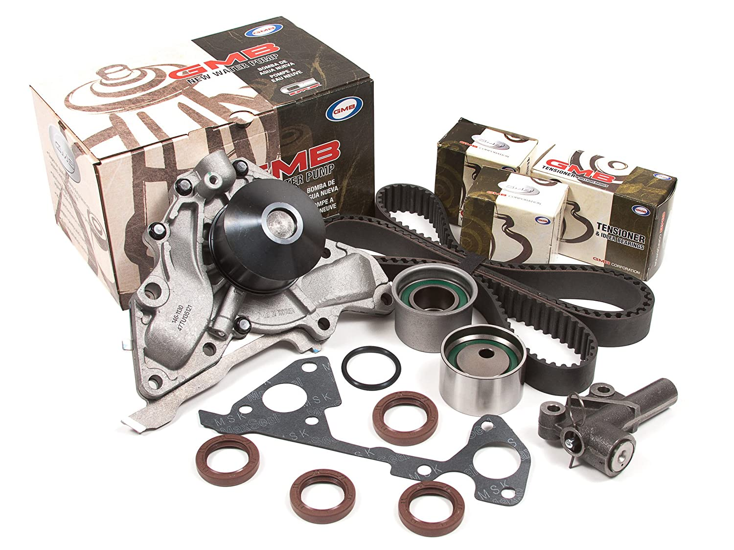 Evergreen Tbk323hwp 00 06 Kia Hyundai 35l Dohc Timing Double Overhead Cam Engine Diagram Belt Kit Gmb Water Pump Automotive