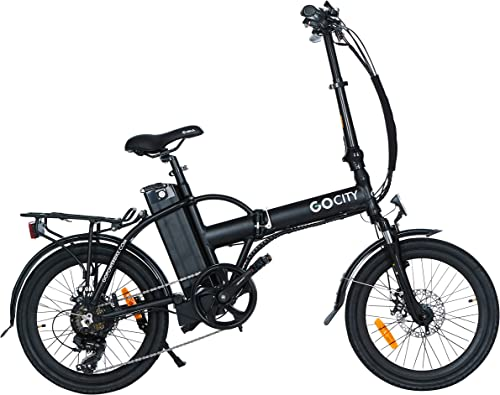 Folding Electric Bicycle 20 500W With A Removable 48v 10AH Lithium-Ion Battery – Lightweight and High Speed E-bike – All Terrain Foldaway Sport Commuter Bicycle With Pedal Assist and Pedal-Free Mode