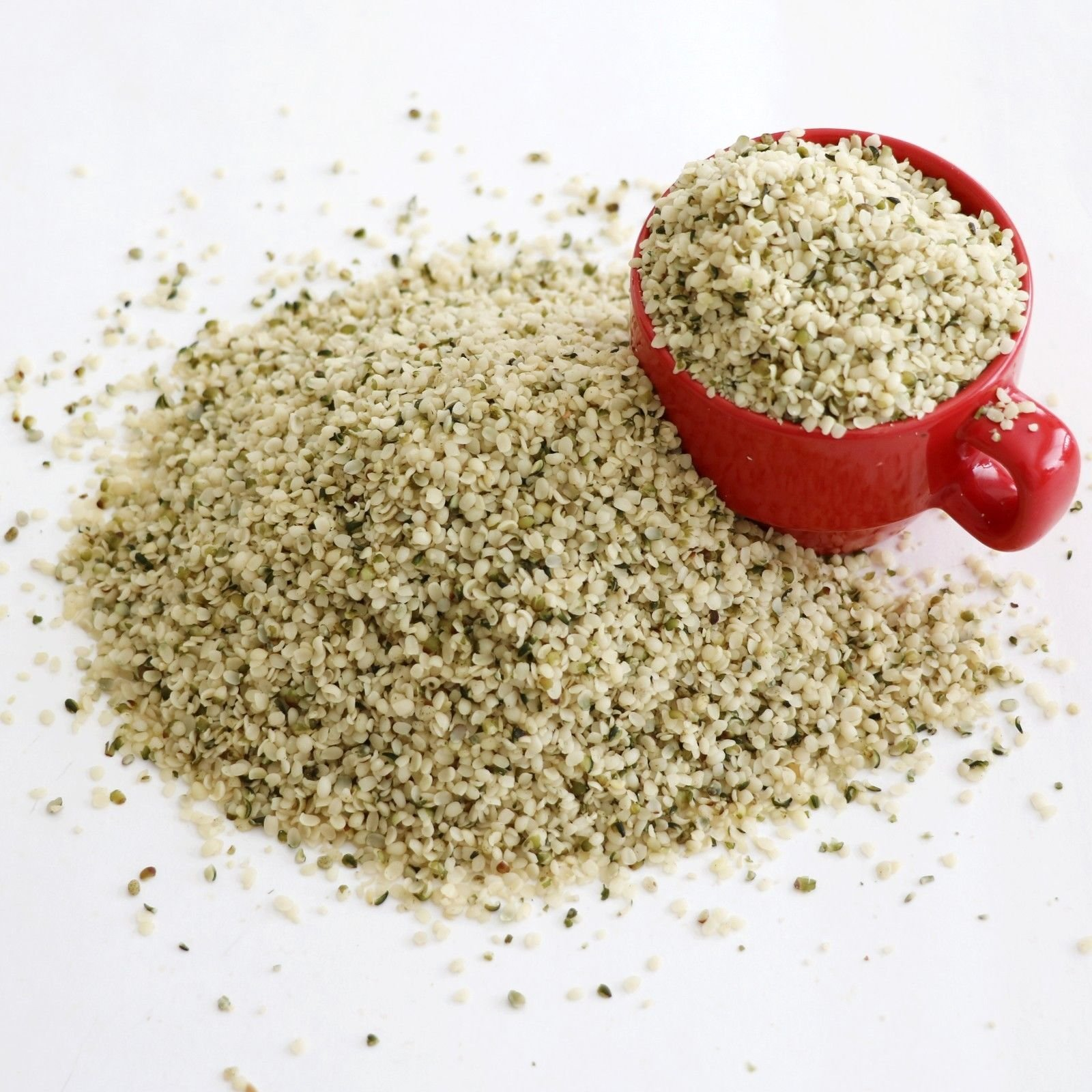 GROWN ORGANIC HEMP HEARTS SEEDS BULK NO ALLERGENS KOSHER CERTIFIED 1/2 lb