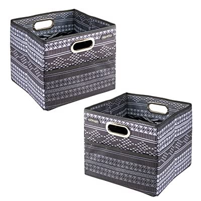 High Road CargoCube Trunk and Car Organizer Bins with Leakproof Lining - set of 2 (Baja): Home Improvement