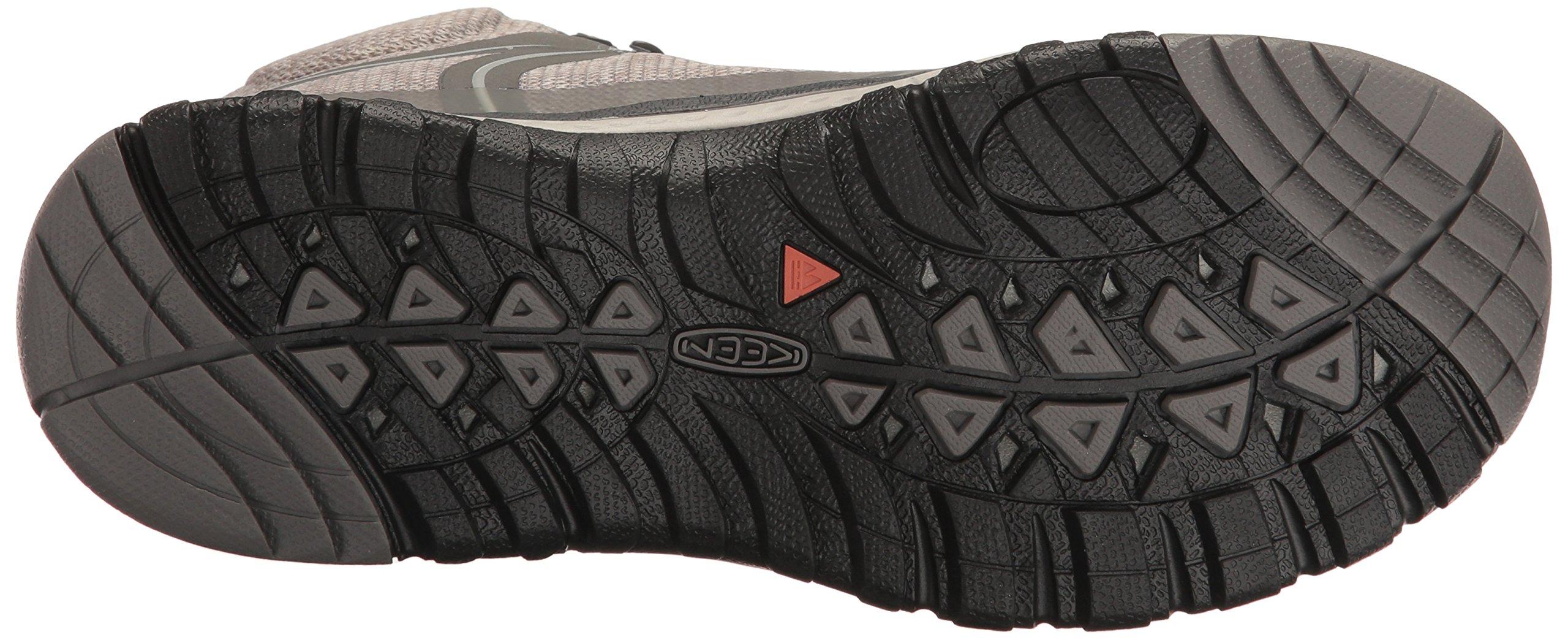 KEEN Women's Terradora Mid Waterproof Hiking Shoe, Gargoyle/Magnet, 9 M US by KEEN (Image #3)