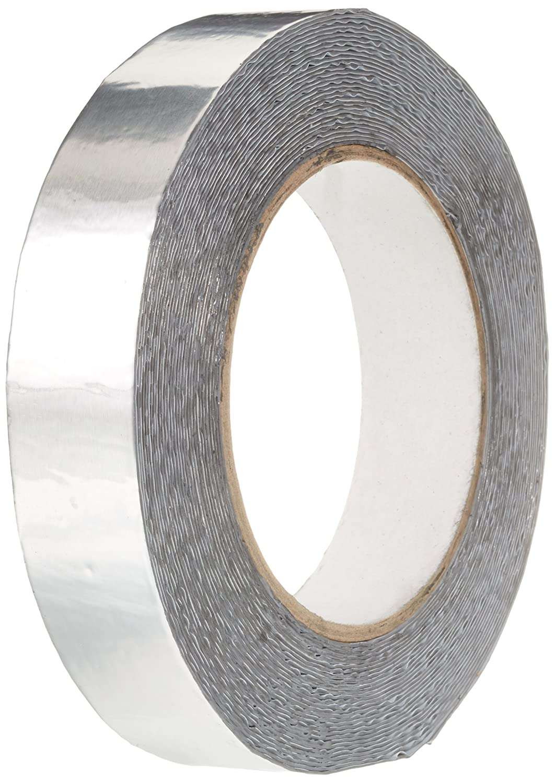 BONUS Eurotech 1BS06.11.0025/010A# Butyl Tape With Aluminium, Width: 25 mm, Length: 10 m, Thickness: 0.7 mm, Grey