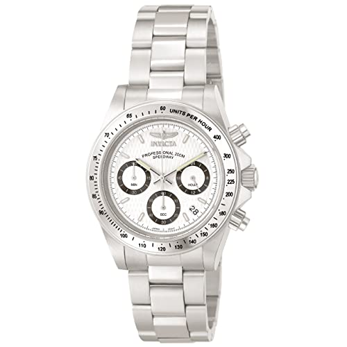 Invicta Mens 9211 Speedway Collection Stainless Steel Chronograph Watch with Link Bracelet