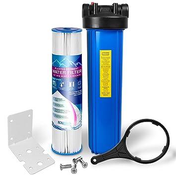 """20 """"gran azul Filtro de agua purificador sistema con 5 micras 4,5"""