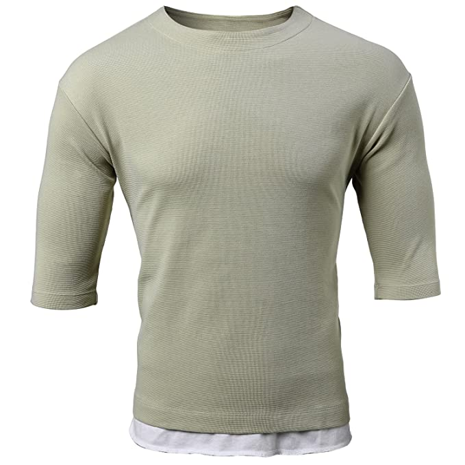 20298d98484a Amazon.com  FLY HAWK Mens Casual Relaxed Fit T-Shirts for Men