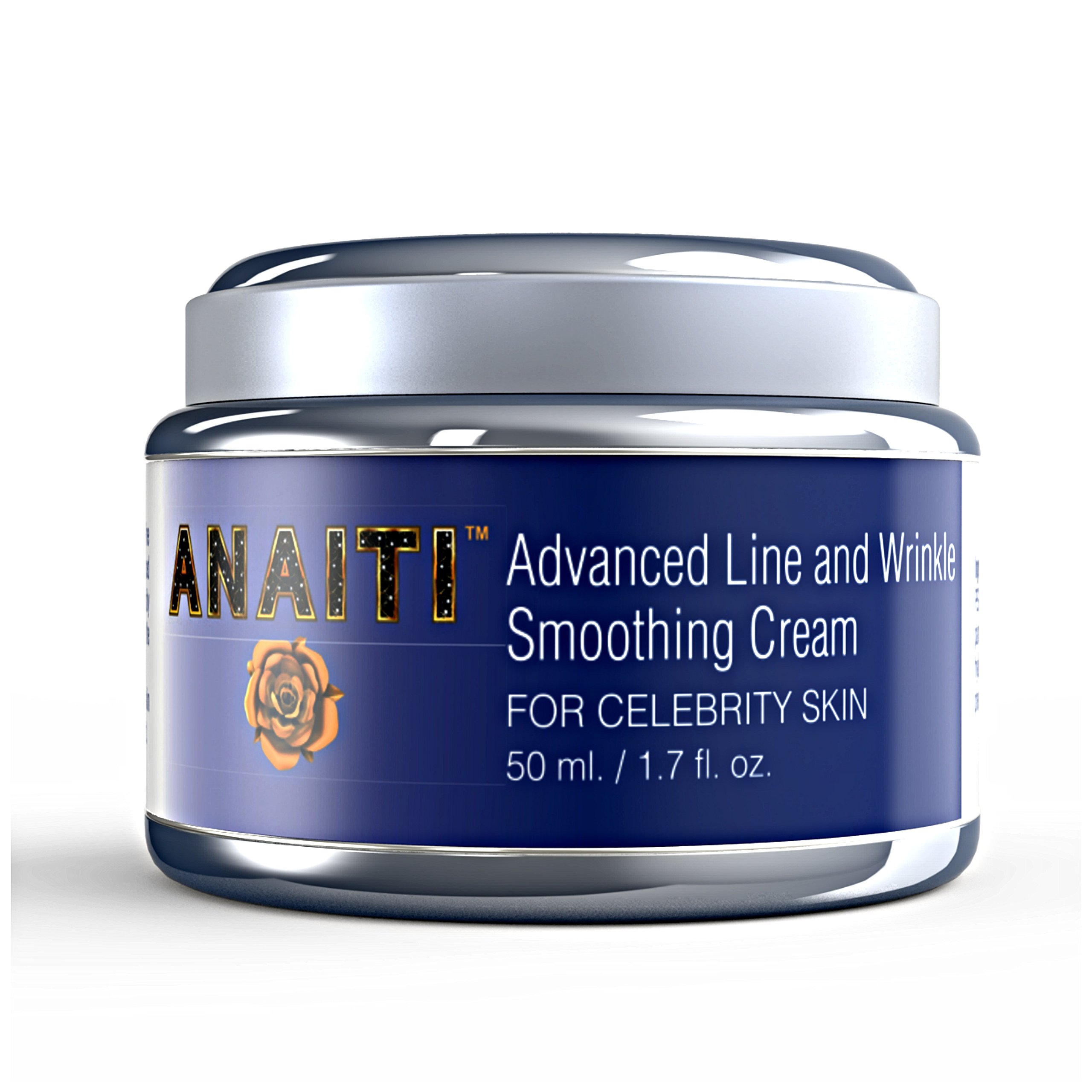 Anti-Aging Wrinkle Smoothing Cream   HYALURONIC ACID, Peptides   Get Rid Of Wrinkles with Skin Tightening Daily Moisturizer   Dermatologist Skin Care for Eyes, Face, Forehead - 1.7 oz.