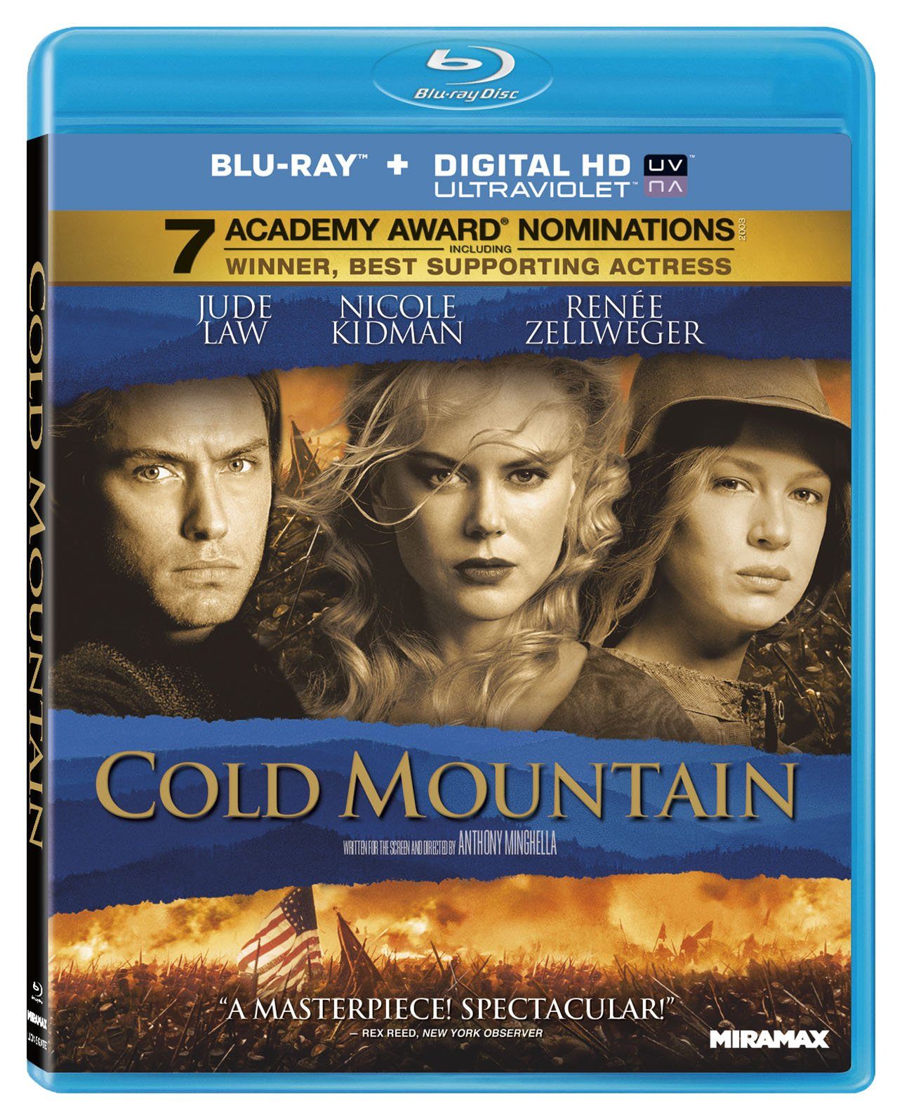 Blu-ray : Cold Mountain (Digital Theater System, AC-3, , Widescreen)