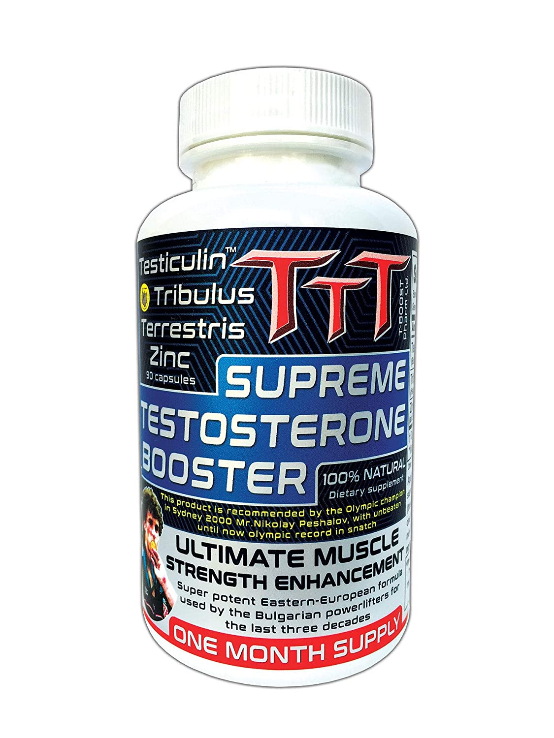 TTT- The Best Alternative Of The Anabolic Steroids  Supreme Testosterone  Booster  Contains Unique Ingredient