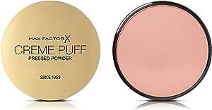 Max Factor Creme Puff, Pressed Compact Powder, 81 Truly Fair, 21 g