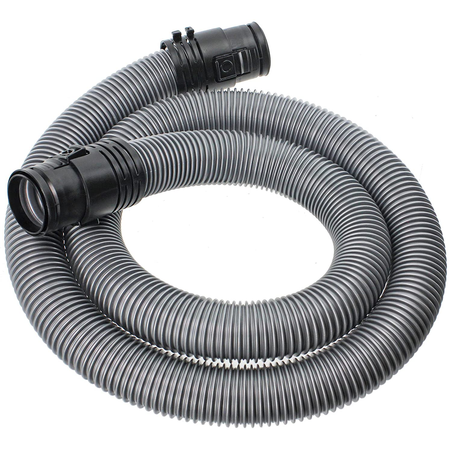 SPARES2GO 1.7m Pipe Hose for Miele C1 Classic Junior Ecoline Powerline Vacuum Cleaner (38mm, Silver)