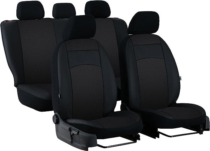 Pokter Royal Maßgefertigte Paßgenaue Sitzbezugset Für Golf Vii Sportsvan Ab 2013 Design Royal Stoff Mit Kunstleder In 4 Farben Auto