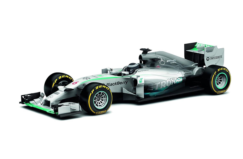 SuperSlot - Coche Slot, Mercedes F1 W05 Hybrid nico Rosberg 2014 (Hornby S3621A)