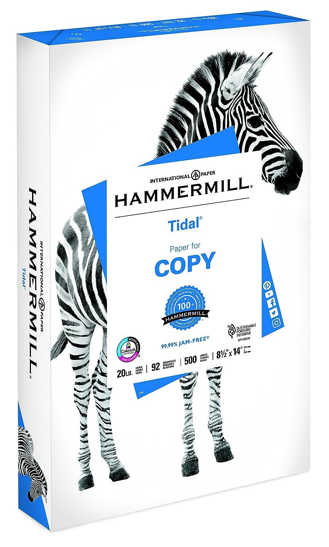 92 Bright 162016C 10 Reams // 5,000 Sheets Hammermill Paper Acid Free Paper 8.5 x 14 Paper Tidal Copy Paper 20lb Paper Legal Paper