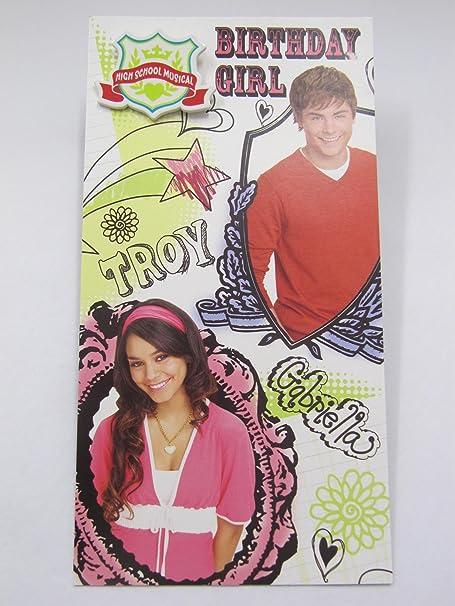 Fantastic High School Musical Birthday Girl Birthday Greeting Card