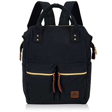 caa8b0388c Veegul Stylish Doctor Style Multipurpose Travel Backpack Everyday Backpack  for Men Women Dual Pockets Black