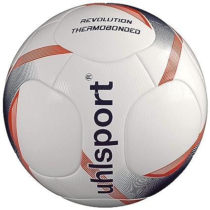 uhlsport Revolution THERMOBONDED Footballs, Juventud Unisex, White ...