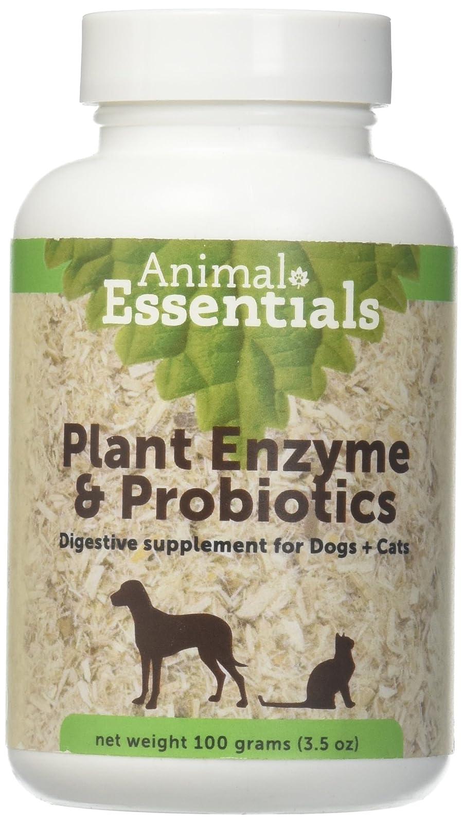 Animal Essentials Plant Enzyme & Probiotics SupplementDogs and B010F372HA - 2