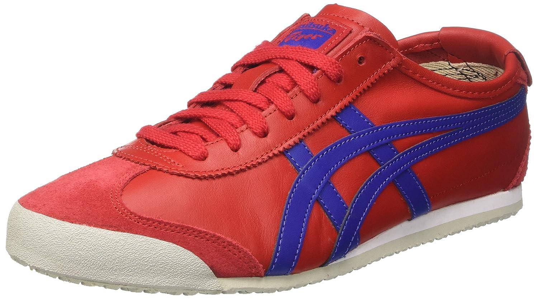 Asics Herren Mexico 66 Sneaker  37 EU|Rot (True Red/Asics Blue)