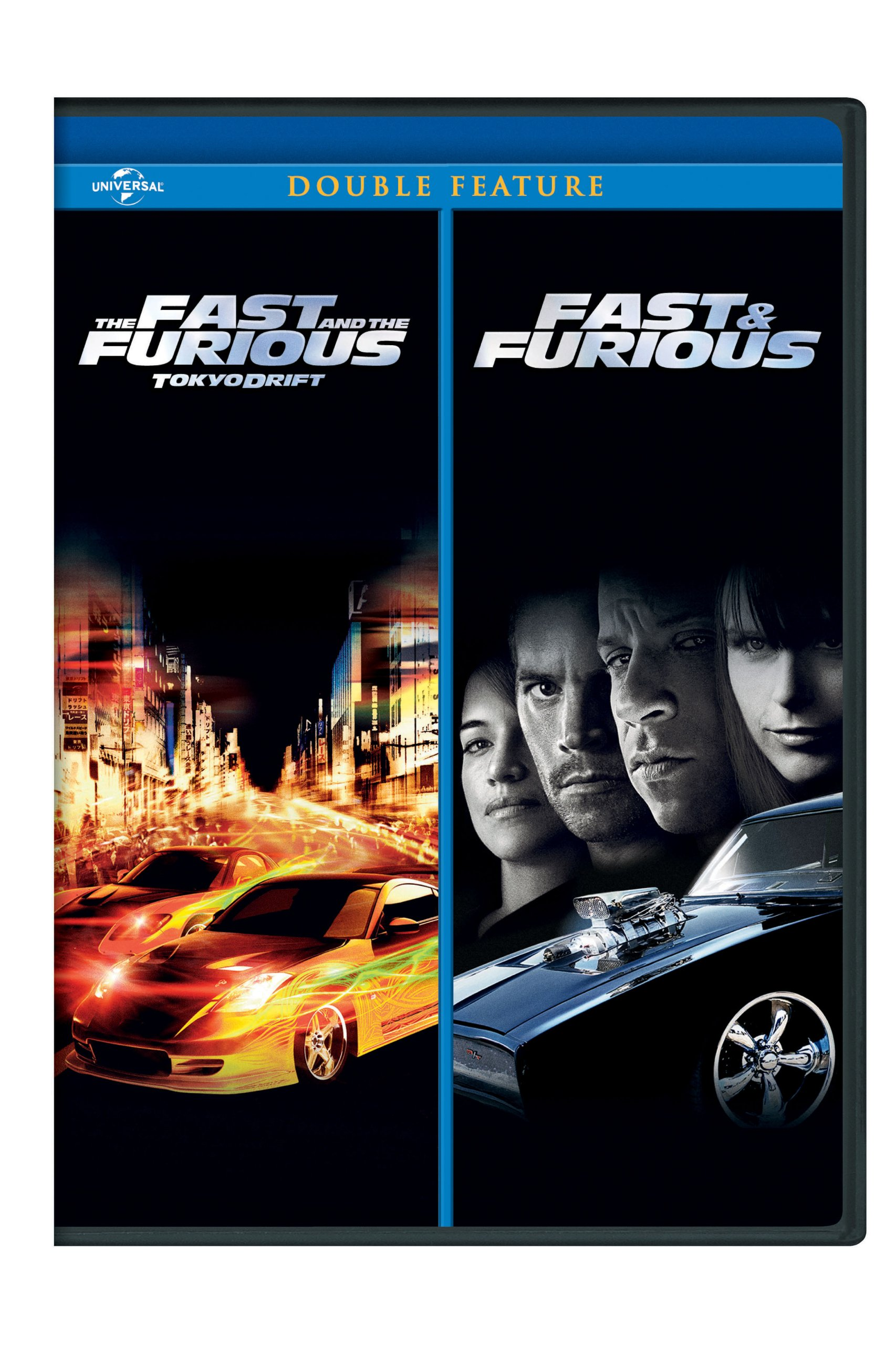 DVD : The Fast and the Furious: Tokyo Drift / Fast & Furious (Widescreen, Snap Case)