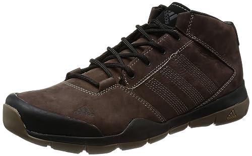 adidas Anzit DLX Mid, Scarpe da Camminata ed Escursionismo Uomo Multicolore Grigio/Marrone