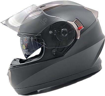 Amazon.es: NatHut Casco Moto Integral ECE Homologado | Casco ...