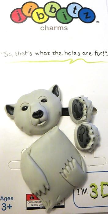 Jibbitz By Crocs 3d Polar Bear