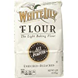White Lily All Purpose Flour - 5 LB(80 .OZ) pack of 2