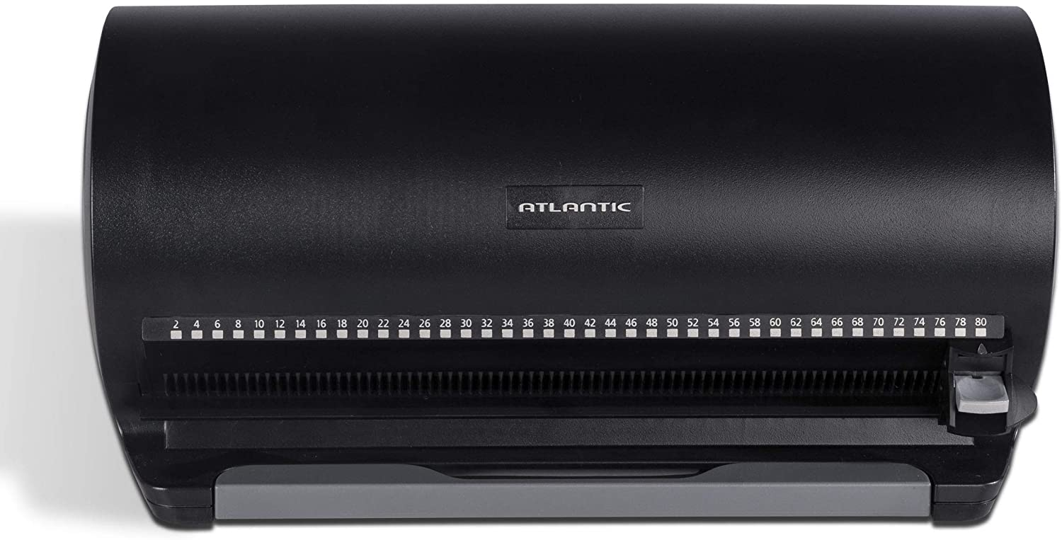 Atlantic 80 Disk Storage Manager - Protect and Organize Media, Durable Hard Plastic in Black, PN85012055: Home Audio & Theater