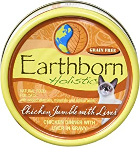 Earthborn Holistic Grain Free Cat Food (Pack of 24), FBA_28682