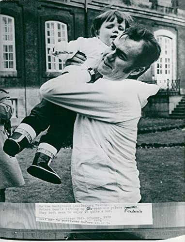 Amazon.com: Vintage photo of Prince Henrik of Denmark lifts ...