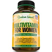 Women's Multivitamin Supplement. Vitamins A C D E & Vitamin B Complex. Immune &...