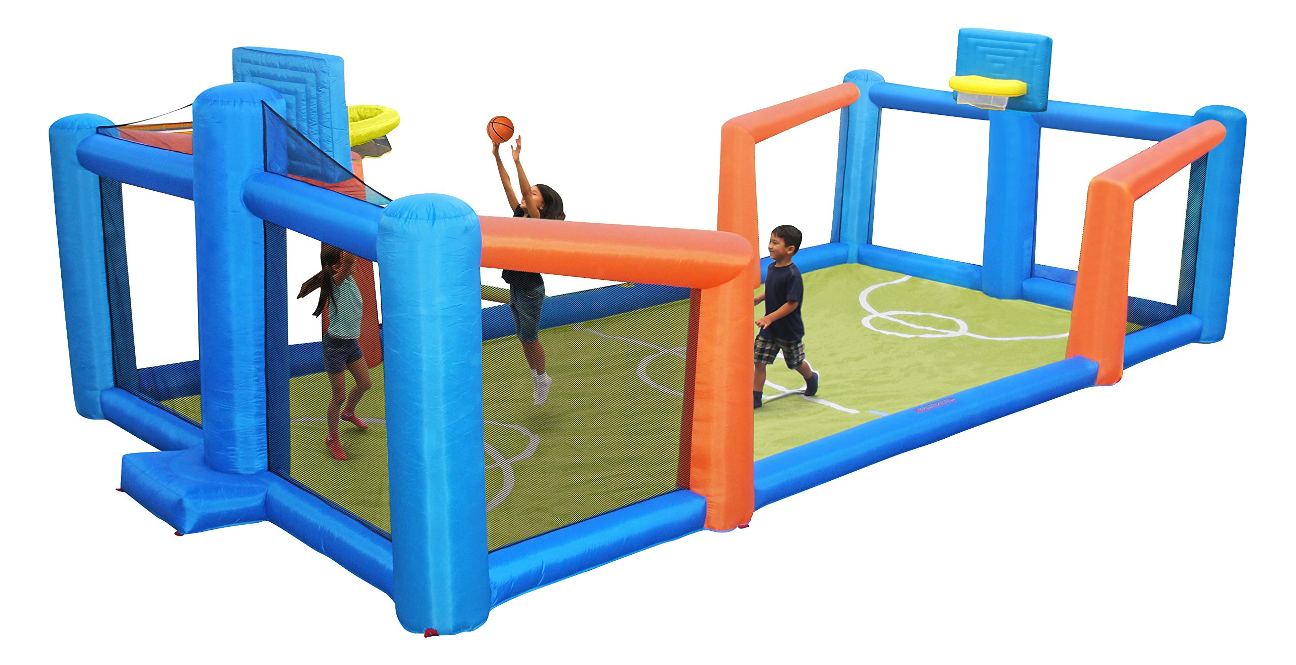 Sportspower Fly Slama Jama Inflatable Basketball Court by Sportspower (Image #1)