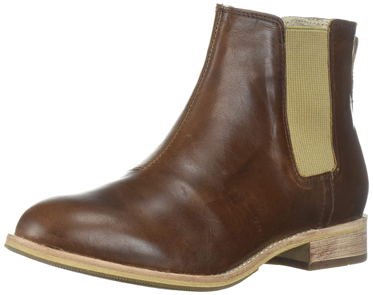 Caterpillar Women's Matilda Leather Chelsea Ankle Boot B01MSYT9L8 7 B(M) US|Brown Sugar