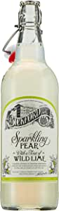 Bickford's Premium Sparkling Pear with Wild Lime Soft Drink, 8 x 700ml