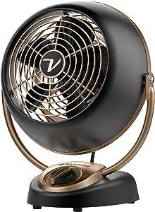 Vornado VFAN Petite Alchemy Vintage Fan, Compact, Gunmetal