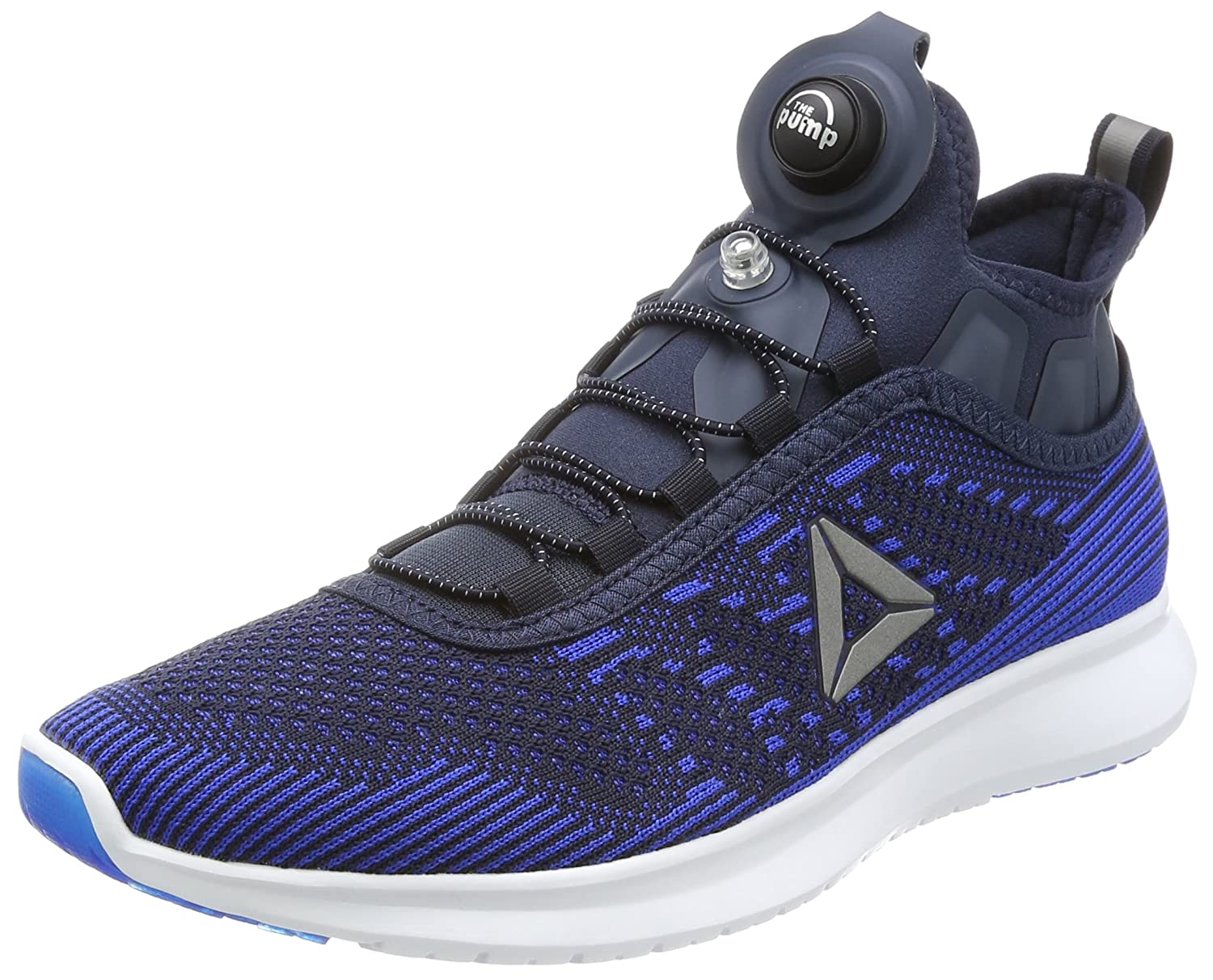 3a3a3bfc9550 Reebok Men s Pump Plus Ultk Vital Blue Night Navy Wht Running Shoes - 10  UK India (44.5 EU)(11 US) (BS8565)  Buy Online at Low Prices in India -  Amazon.in