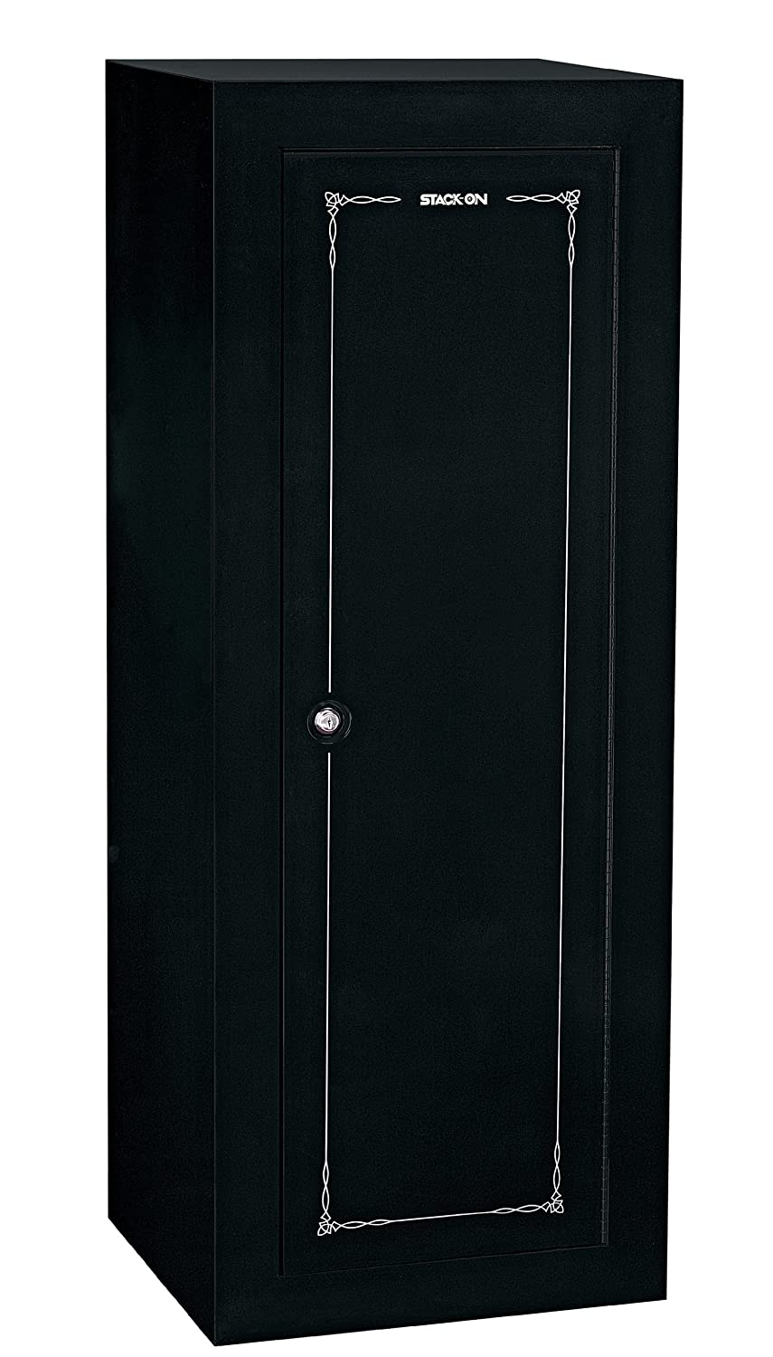 Stack-On GCB-18C Steel 18-Gun Convertible Steel Security Cabinet, Black