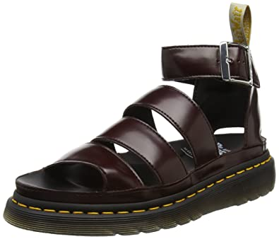 Dr. Martens Damen V Clarissa Ii Platform Sandalen, Rot (Cherry Red  Cambridge Brush 9abfbf68f7