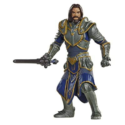 Warcraft Mini Lothar & Horde Warrior Action Figures (2 Pack): Toys & Games
