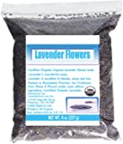 LavenderLove Organic French Culinary Grade Lavender Flowers, 8 Oz