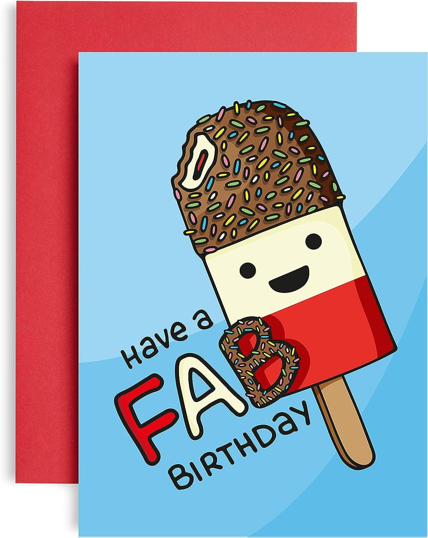 Have A Fab Birthday Card For Friend Women Birthday Card For Her Gift Card For Best Friend Fun Birthday Card For Him Mum Birthday Cards Sister Birthday Card