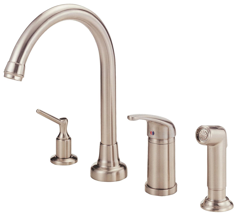Danze D409112SS Melrose Single Handle High-Rise Kitchen Faucet ...