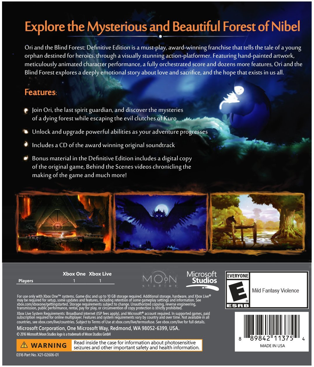 Ori and the Blind Forest: Definitive Edition - Xbox One by Microsoft (Image #3)