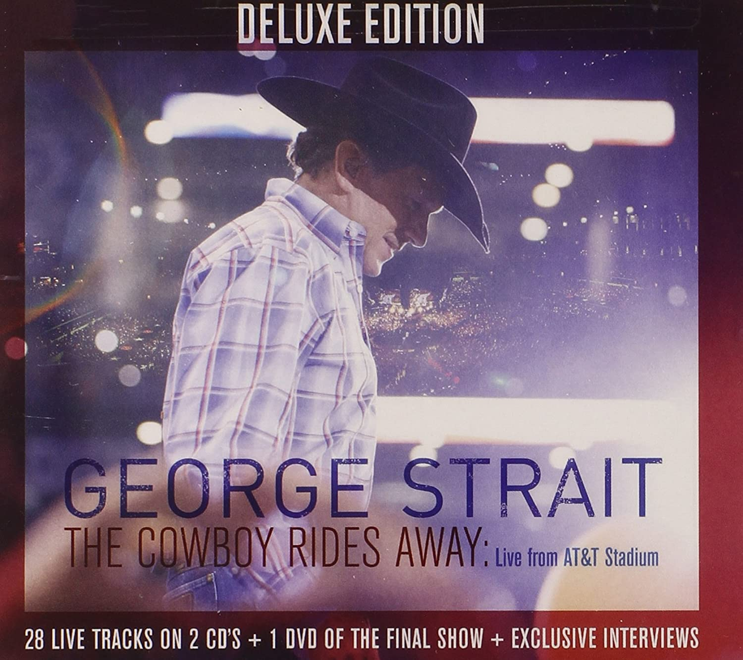 The Cowboy Rides Away Live From At T Stadium Cd Dvd Amazon Co Uk Music