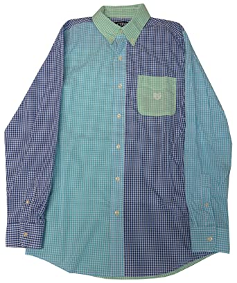 84e7888d Image Unavailable. Image not available for. Color: Chaps Mens Long Sleeve  Easy Care Button Down Shirt ...