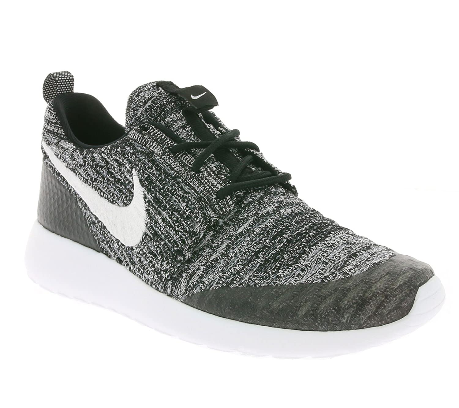 Amazon.com | NIKE Women's WMNS Roshe One Flyknit, Black/White-Cool ...